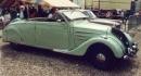 Peugeot 402 Eclipse. Mit elektro-hydraulisch versenkbarem Stahldach, wie beim aktuellen 206CC oder Mercedes SLK