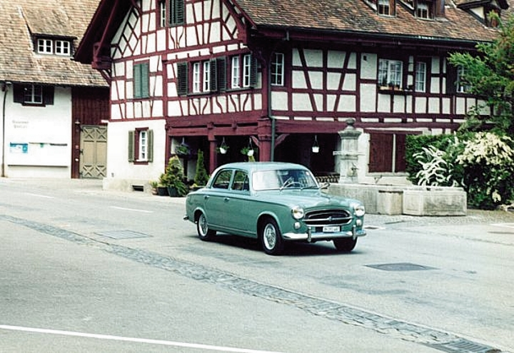Frühlingsausfahrt Region Thurgau, Mai 2002