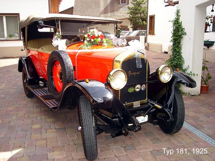Peugeot 181 1925