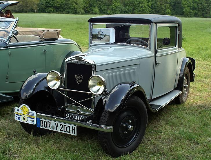 Ein 2-sitziges Coupé, Modell B, gebaut in den Jahren 1932/33