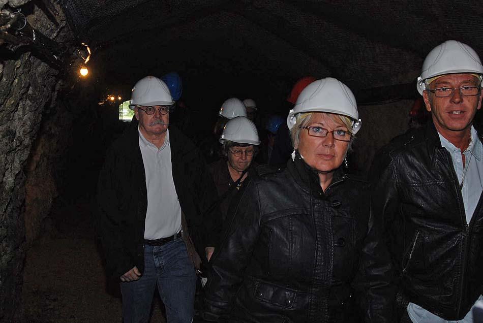 Besuch der Asphaltminen im Val-de-Travers, 10. Juli 2011