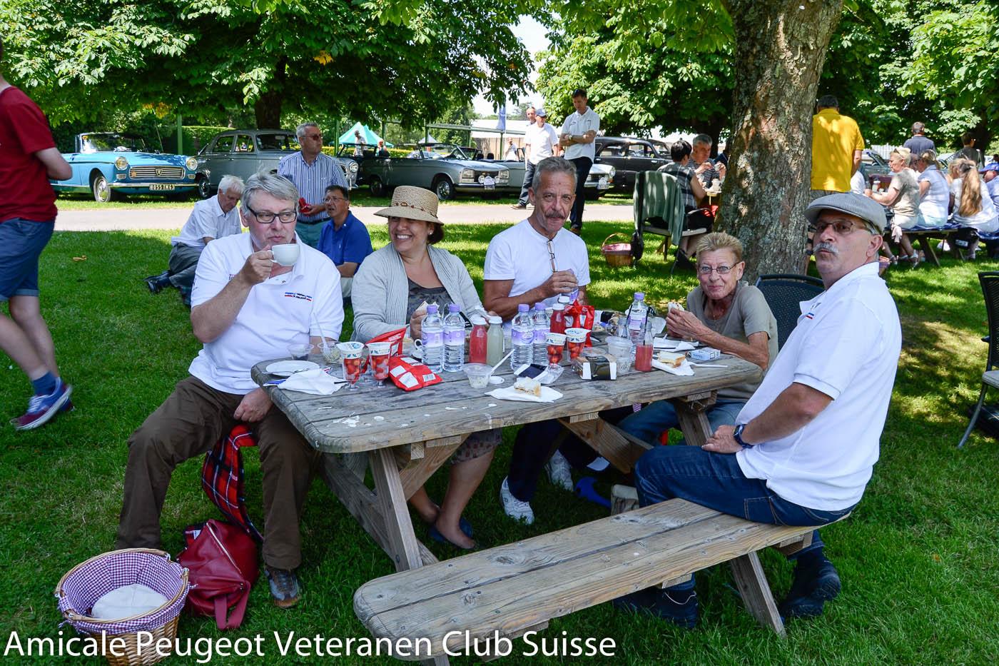 Internationales Peugeot Veteranen Treffen in England, Juni 2014 (Bild Lechner)