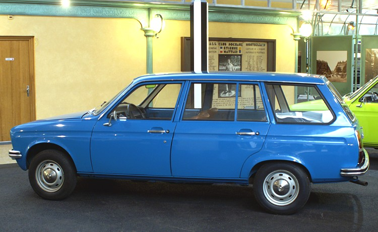 Peugeot 104 Break Prototyp