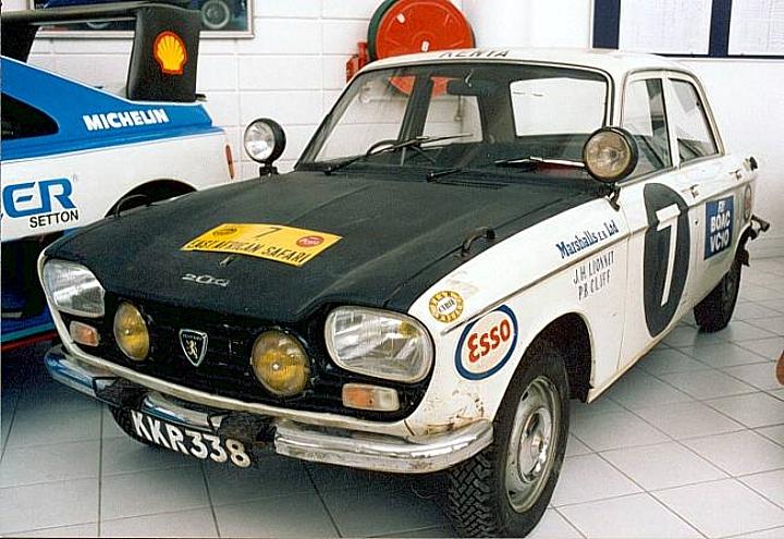 Peugeot 204 Rally