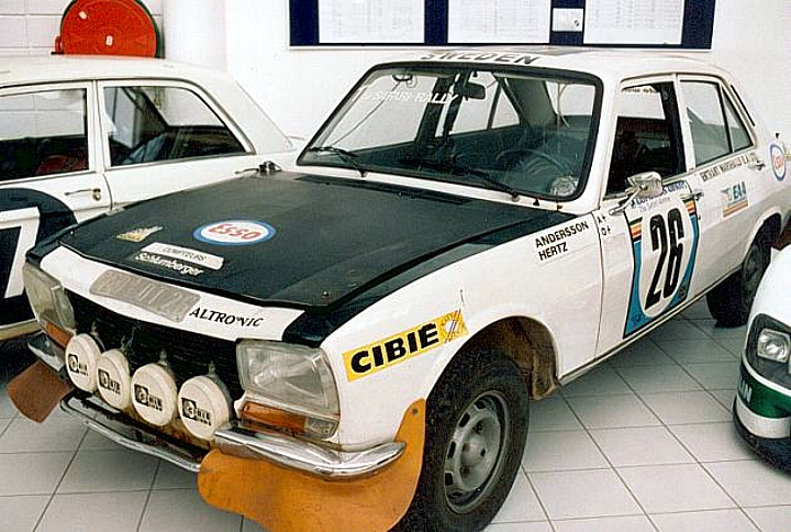 Peugeot 504 Limousine Rally