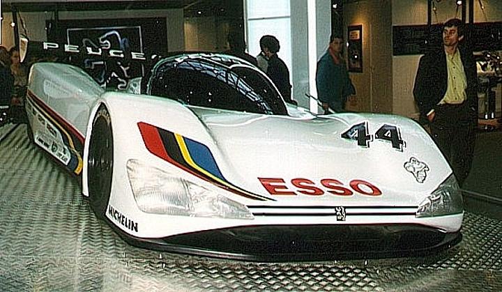 Peugeot 905 Präsentationsmodell