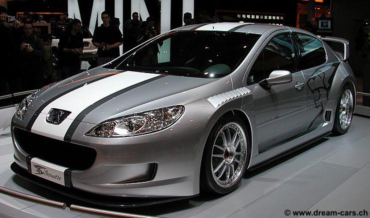 Peugeot Concept 407 Silhouette