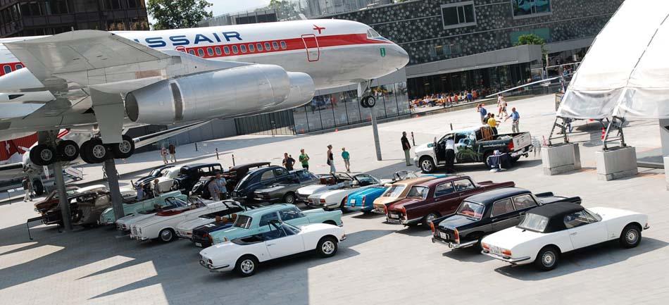 Treffen im Verkehrshaus Luzern 4. Juli 2010 (Foto Marcel Bader)