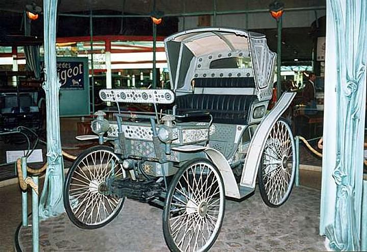 Peugeot Typ 4, gebaut für den Bey von Tunis