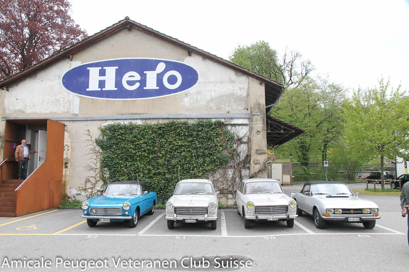 Besichtigung Hero-Museum Lenzburg, 28. April 2013 (Bild Vollenweider)
