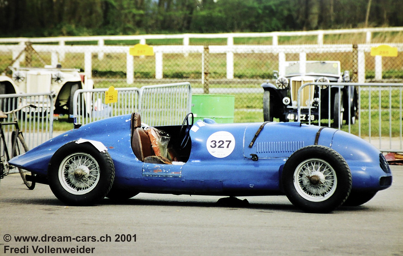 Peugeot 402 Monoplace Special Broual Vintage Montlhery 2001 01