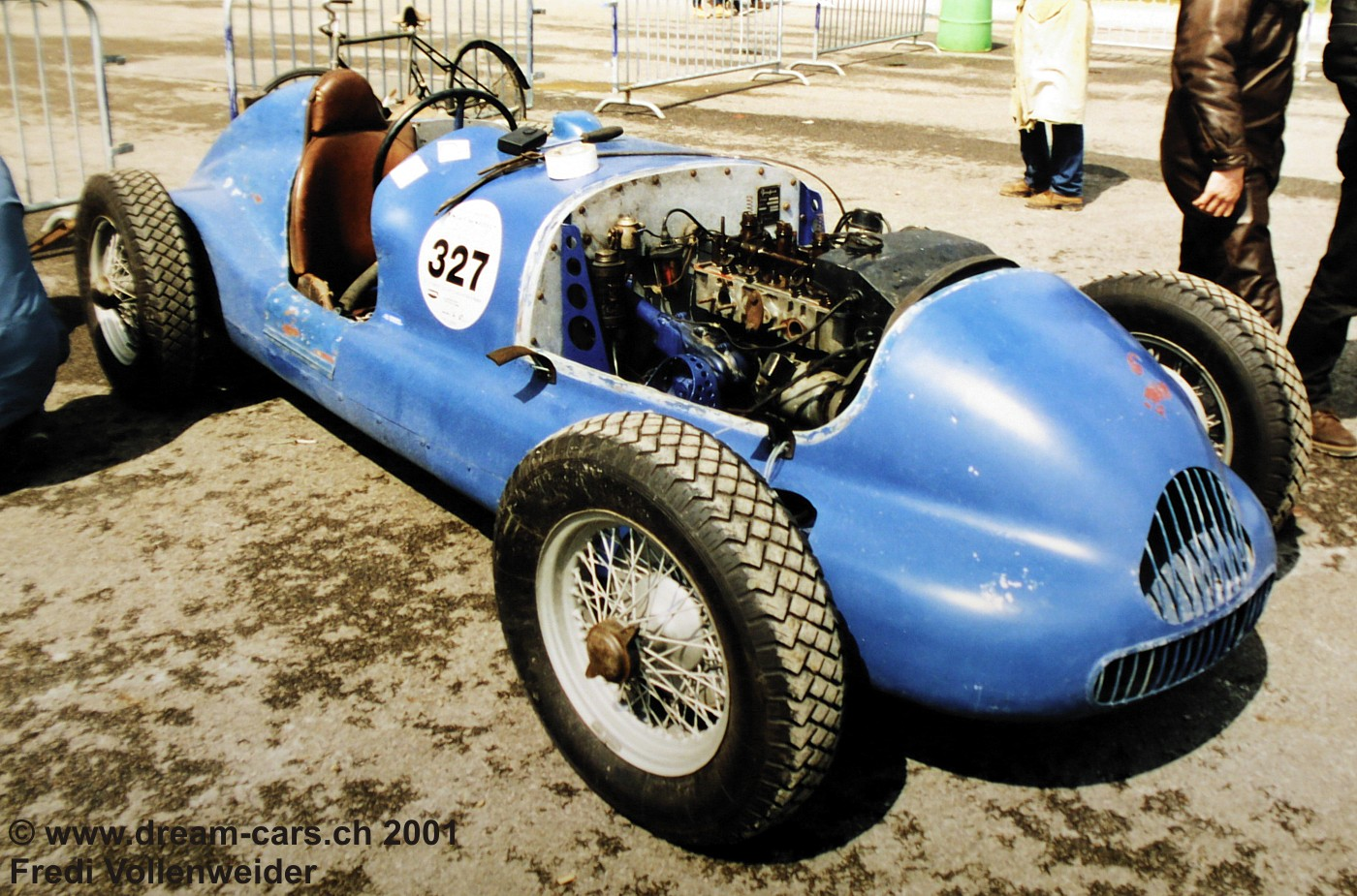Peugeot 402 Monoplace Special Broual Vintage Montlhery 2001 04