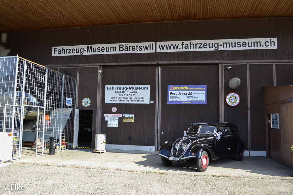 Sommertreffen 2015 und Besuch des Fahrzeugmuseums Junod in Bäretswil (Bild Lechner)