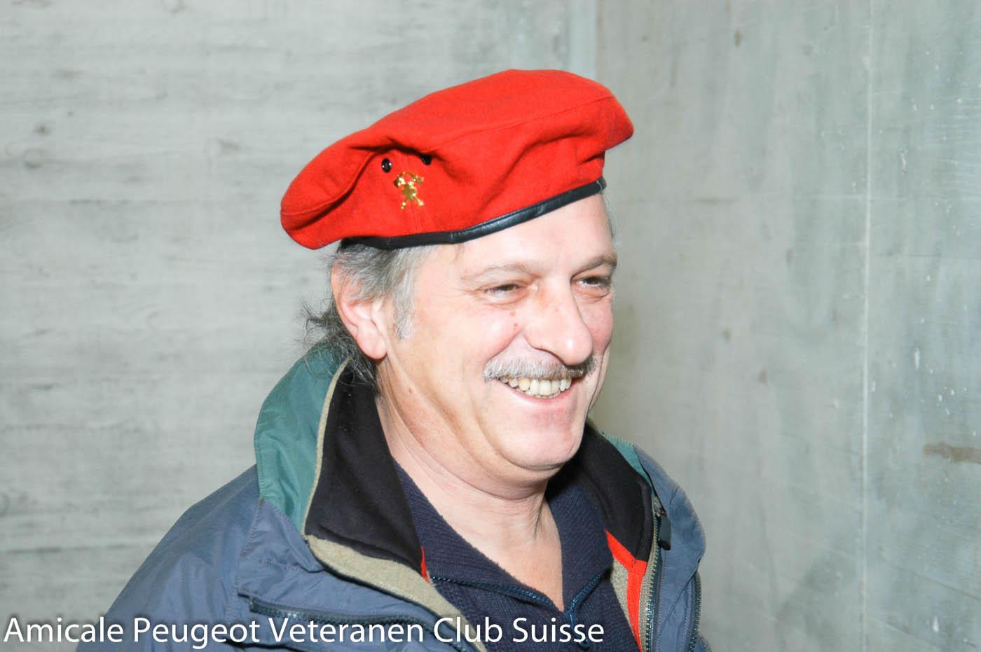 Besuch Feuerwehr Olten, 17. November 2007. Roland Philipona als Feuerwehrmann